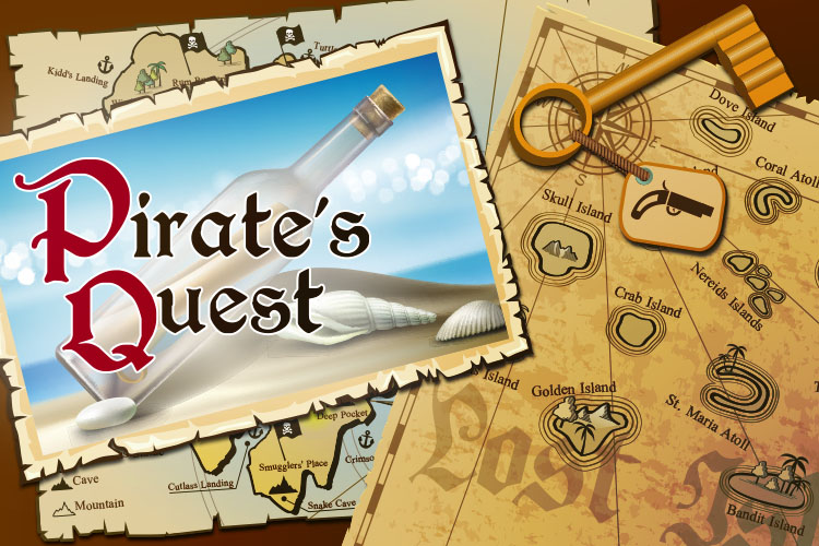 Pirate Quest - Escape Room game