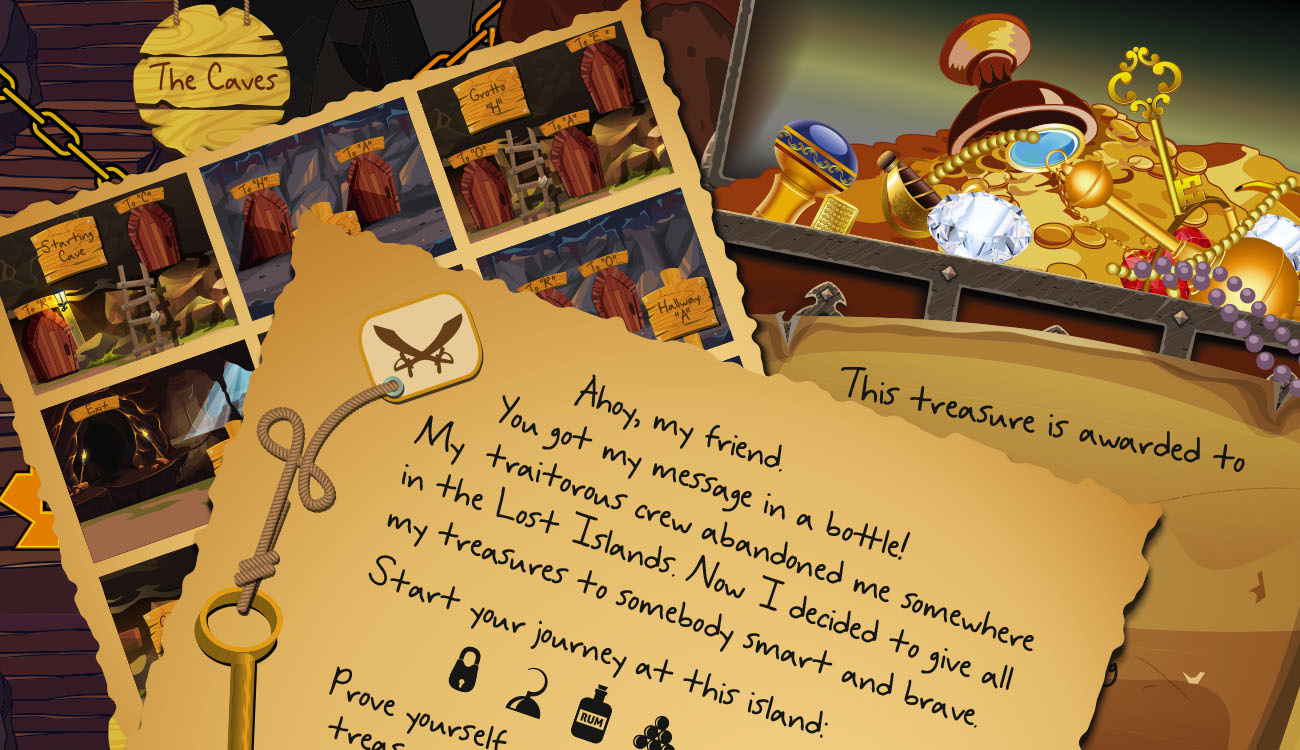 Pirate's Quest - an Escape Room Game